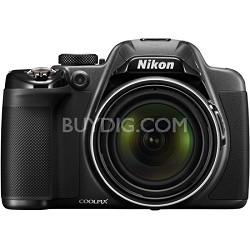COOLPIX P530 16.1MP 42x Opt Zoom HD 1080p Digital Camera - Black