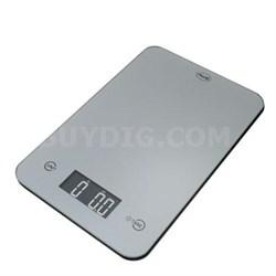 Thin Digital Kitchen Scale Slv