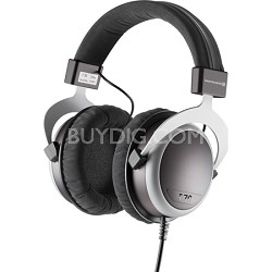 T70 Over Ear Headphone - Black/Grey 250 Ohms