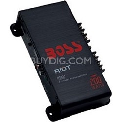 1200 Watt Riot 2 Channel MOSFET Power Amplifier R6002