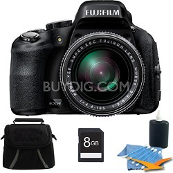 FinePix HS50EXR 8GB Digital Camera Kit