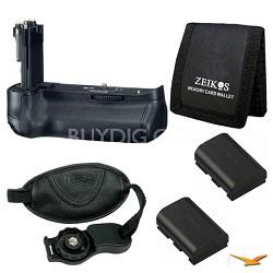 Essential BG-E11 Battery Grip Bundle for Canon EOS 5D Mark III SLR Camera
