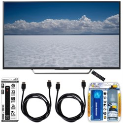 "XBR-49X700D - 49"" Class 4K Ultra HD TV with Essential Accessory Bundle"