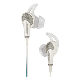 QuietComfort 20 Acoustic Noise Cancelling Headphones, Apple - White - OPEN BOX