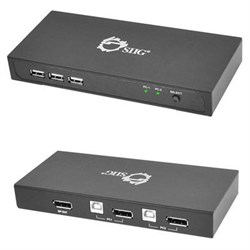 2 Port DisplayPort KVM Switch
