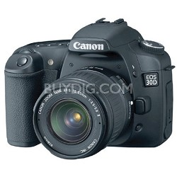 EOS 30D SLR Camera and EF-S 18-55mm Kit, USA Warranty