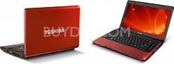 "Satellite 13.3"" Notebook Computer - Red (L635-S3010)"
