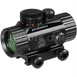 """3.8"""" ITA Red/Green CQB Dot Sight with Integral Mount - SCP-RD40RGW-A"""