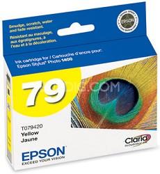 Claria Hi-Definition Ink Cartridge (Yellow) for Epson Stylus 1400