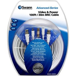 Video & Power 100ft / 30m BNC Cable