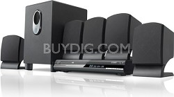 5.1 Channel DVD Player with Home Theater Speaker System