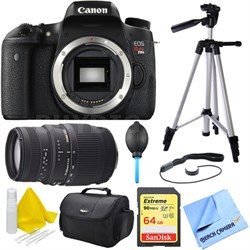 EOS Rebel T6s Digital SLR Camera Body w/ 70-300mm Telephoto Lens 16GB Bundle