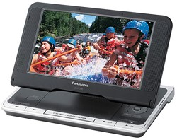 "DVD-LS80 Portable DVD Player Adjustable 8.5"" LCD- Refurbished"