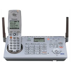 KX-TH111S  Expandable Cordless Telephone w/ Bluetooth Cellular Link, Digital Ans