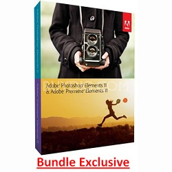 Photoshop Elements and Premiere Elements 11 -MAC/ PC (bundle package)