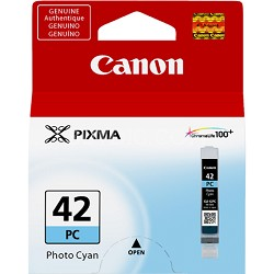 CLI-42 Photo Cyan ChromaLife 100+ Individual Ink Catridge for the PIXMA PRO 100