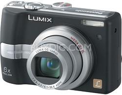 """DMC-LZ7K (Black) Lumix 7.2 Megapixel Digital Camera w/6x Optical Zoom, 2.5"""" LCD"""