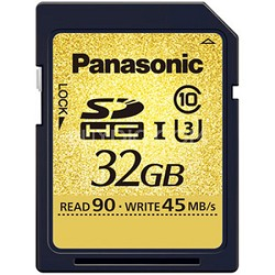 32GB Gold Series Ultra High Speed UHS-I SDHC Memory Card Class 10 (U3)(SDUC32)