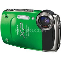 FinePix XP20 14 MP Underwater Digital Camera with 5x Optical Zoom (Green)
