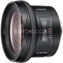 SAL20F28 - 20mm f2.8 Wide-Angle Lens