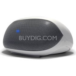 LoudSpeak'r Wireless Bluetooth Handsfree White Speaker