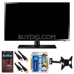 """UN19F4000 19"""" 60hz 720p LED HDTV Wall Mount Bundle"""