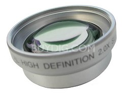 Professional 2x Telephoto Lens Converter - for 46mm threading