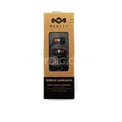 Smile Jamaica In-Ear Headphones With In-Line Mic Black/Brown