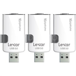 3-Pack JumpDrive M20i 16GB USB 3.0 Flash Drive for iPhone w/ Lightning Connector