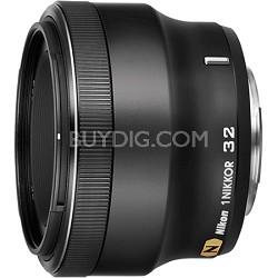 1 NIKKOR 32mm f/ 1.2 CX Format Lens (Black)