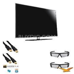 UN40D6400 40 inch 120hz 1080p 3D LED HDTV 3D Kit