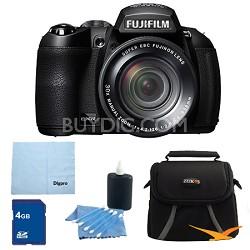 FinePix HS25EXR 16MP BSI EXR CMOS Digital Camera 4 GB Bundle