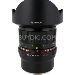 FE14M-FX 14mm f/2.8 IF ED MC Aspherical Super Wide Angle Lens/Fuji X - OPEN BOX