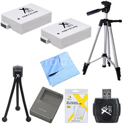 Advanced LP-E8 Battery Bundle for Canon EOS T5I and T3I Digital Cameras