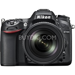 D7100 24.1 MP DX-Format DSLR Camera w/ 18-105mm lens