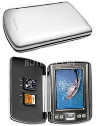 Brushed Aluminum hard case for Palm TX & Tungsten T5