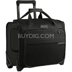 """U116-4  Baseline 14"""" Rolling Cabin Bag - Black"""