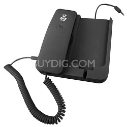 PIRTR60BK Handheld Phone and Desktop Dock for iPhone -Black