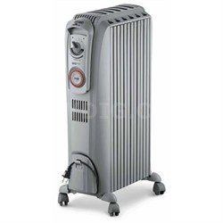 TRV0715T Safeheat 1500W Portable Oil-Filled Radiator Heater - White