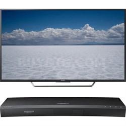 "55"" Class 4K Ultra HD TV - XBR-55X700D + Samsung UBDK8500 4K UHD Blu-Ray Player"