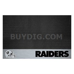 NFL Oakland Raiders Vinyl Heavy Duty Grill Mat