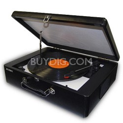 JTA-420 Portable 3-Speed Stereo Turntable with Built-in Speakers