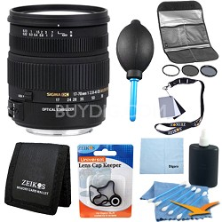 17-70mm f/2.8-4 DC Macro OS HSM Lens for Canon Mount DSLR - Pro Lens Kit