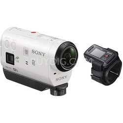 HDR-AZ1VR/W Splashproof POV HD Camcorder with Live View Remote