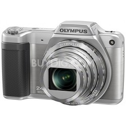 STYLUS SZ-15 16MP 24x SR Zoom 3-inch Hi-Res LCD - Silver