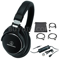 SonicPro High-Res. Headphones with Active Noise Cancellation with Microphone