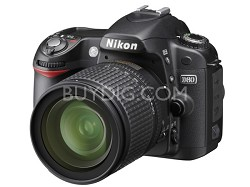 D80 Digital SLR Camera Outfit w/ 18-55 Zoom Lens + Free 4Gb Memory Card.