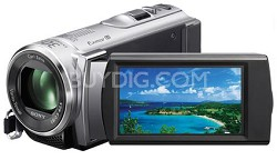 HDR-CX210 HD Camcorder 8GB Camcorder w/ 25x Optical Zoom (Silver)
