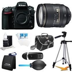 D810 36.3MP 1080p HD DSLR Camera 24-120mm f/4G ED VR AF-S Pro Lens Bundle