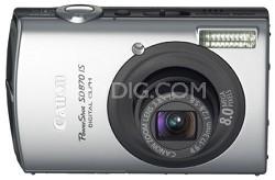 Powershot SD870 IS 8MP Digital ELPH Camera